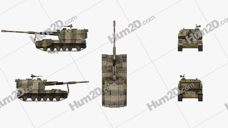 PLZ-05 Self-propelled Howitzer