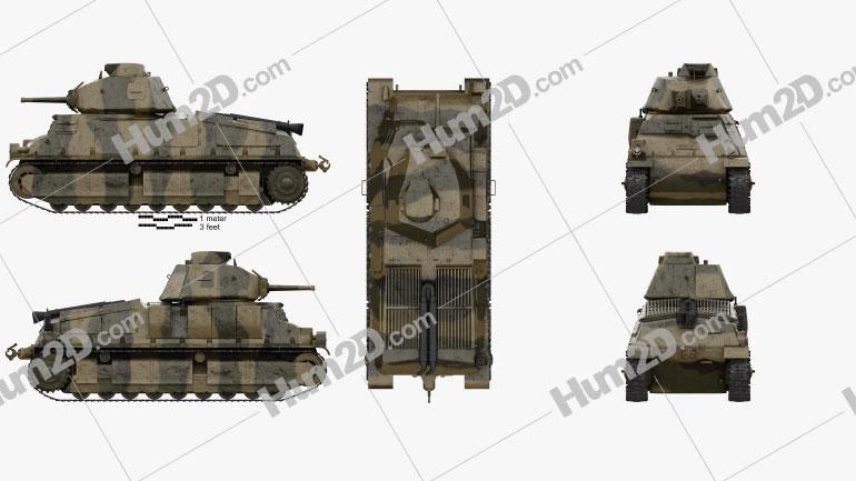Somua S35 Cavalry Tank