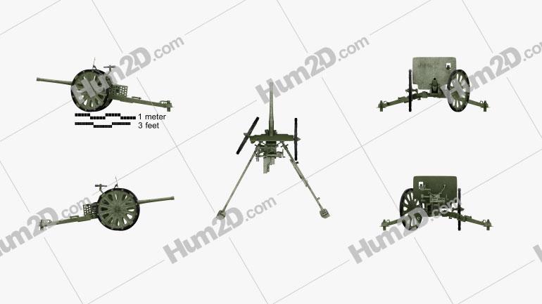 Type 1 37 mm Anti-Tank Gun