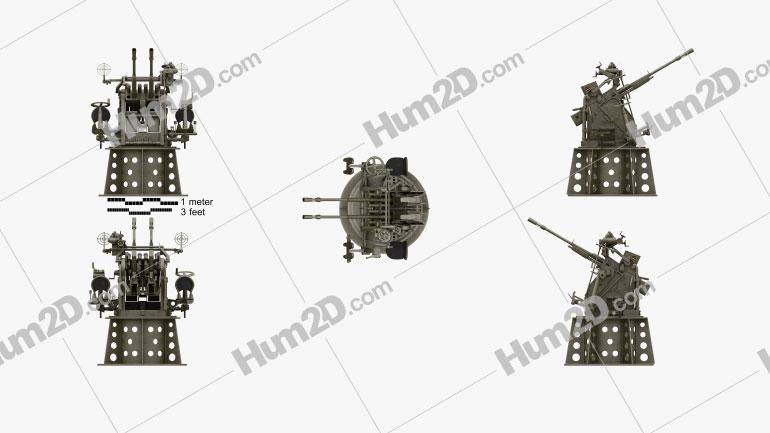 Type 96 25 mm Anti-aircraft Gun