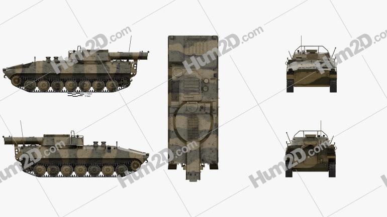 UR-77 Meterorit Mine Clearing Vehicle