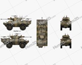 V-150 Commando Armored Car
