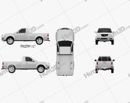 Tata Xenon Single Cab 2008 car clipart