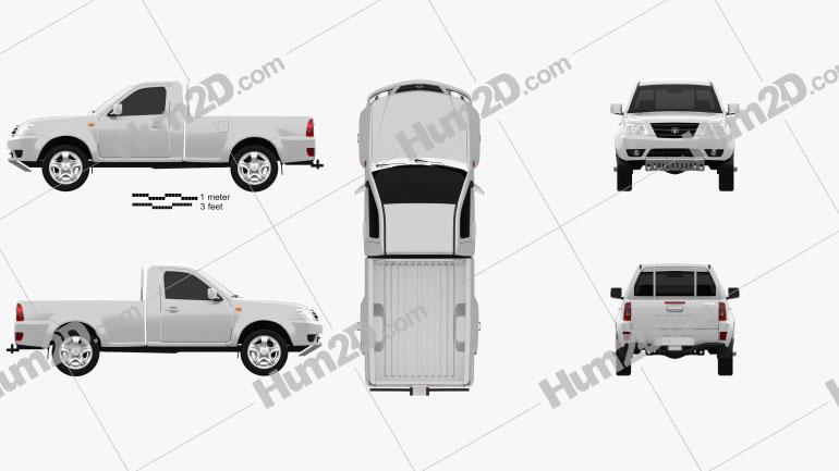Tata Xenon Single Cab 2008