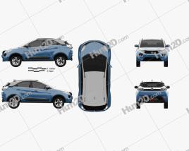 Tata Nexon 2016 Clipart