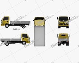 Tata Ultra 714 Flatbed Truck 2012