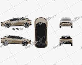 Tata 45X 2018 car clipart