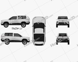 Tata Sierra 2020 Clipart