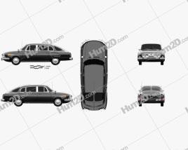 Tatra T603 1968 car clipart