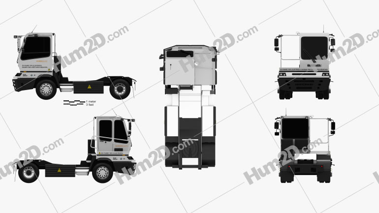 Terberg YT202-EV BMW Factory Tractor Truck 2015