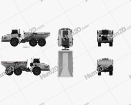 Terex TA400 Dump Truck 2011