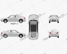Toyota Zelas 2011 car clipart