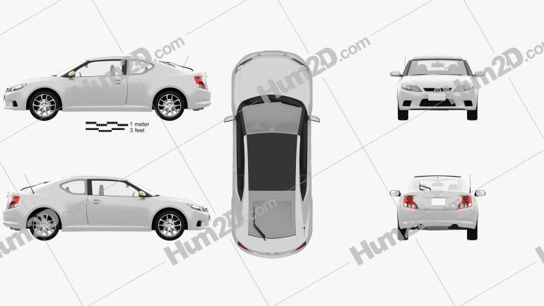 Toyota Zelas 2011 Clipart Image