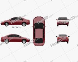 Toyota Allion (T260) 2010 car clipart
