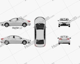 Toyota Corolla EU with HQ interior 2014