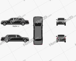 Toyota Century Royal 2006 car clipart
