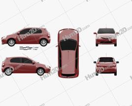 Toyota Etios Liva 2014 car clipart