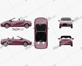 Toyota Aqua Air 2013 car clipart