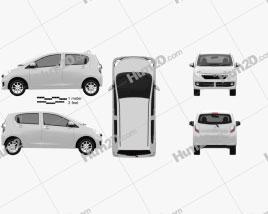 Toyota Pixis Epoch 2013 clipart