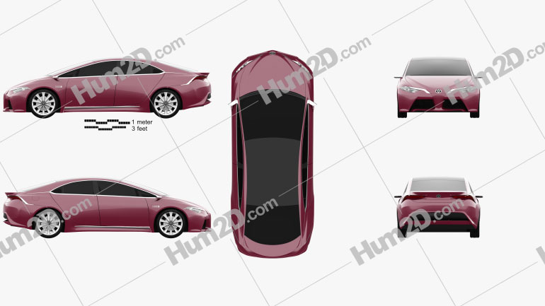 Toyota NS4 2015 car clipart