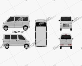 Toyota Pixis Van 2011 clipart