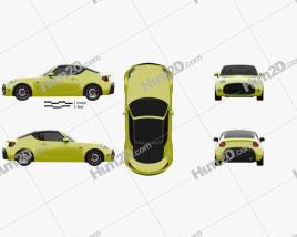 Toyota S-FR 2015 car clipart