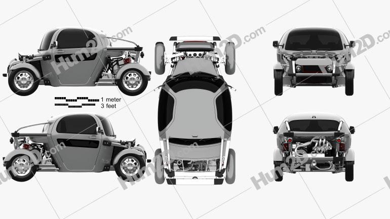 Toyota Kikai 2015 car clipart