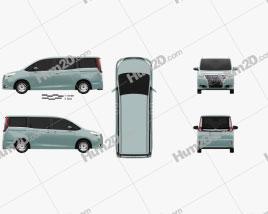 Toyota Esquire 2014 clipart