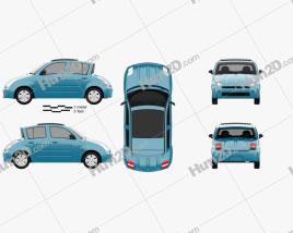 Toyota WiLL Vi Canvas Top 2000