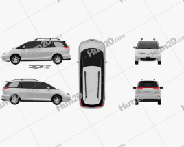Toyota Previa SE 2016