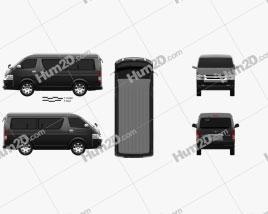 Toyota Hiace Passenger Van L1H2 GL 2013