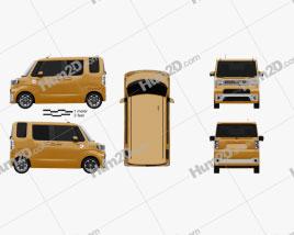 Toyota Pixis Mega 2016