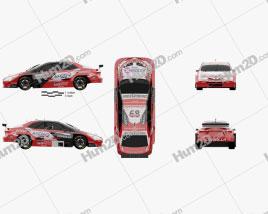 Toyota Corolla STC 2000 2018 car clipart