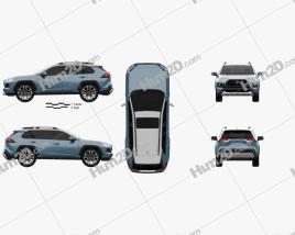 Toyota RAV4 Adventure 2018 car clipart
