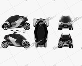 Toyota i-TRIL 2017