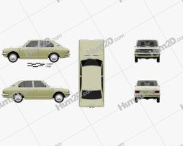 Toyota Corolla 4-door sedan 1970