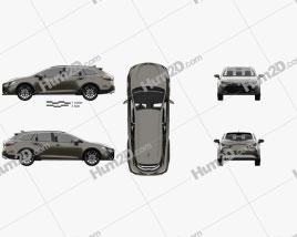 Toyota Corolla Trek 2019 car clipart