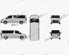 Toyota Granvia 2019 clipart