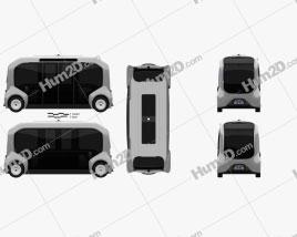Toyota e-Palette 2019