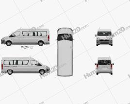 Toyota Hiace Passenger Van L2H2 GL with HQ interior RHD 2019