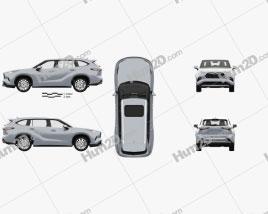 Toyota Highlander Platinum with HQ interior 2020