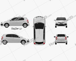 Toyota Etios hatchback 2019