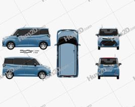 Toyota Tank 2016 car clipart