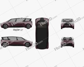 Toyota Fine-Comfort Ride 2017 clipart