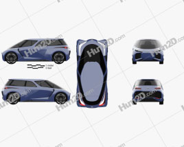 Toyota Rhombus 2022 car clipart