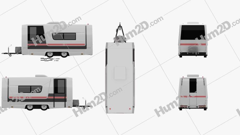 GAZ Gazelle Next Ambulance Trailer 2017