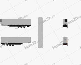 Schwarzmueller Refrigerator Semi Trailer 3-axle 2016