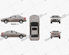 Trumpchi GA5 2010 car clipart