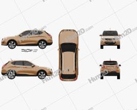 Trumpchi GS5 2017 car clipart