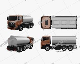 UD Trucks Quester Tanker Truck 2013 Clipart